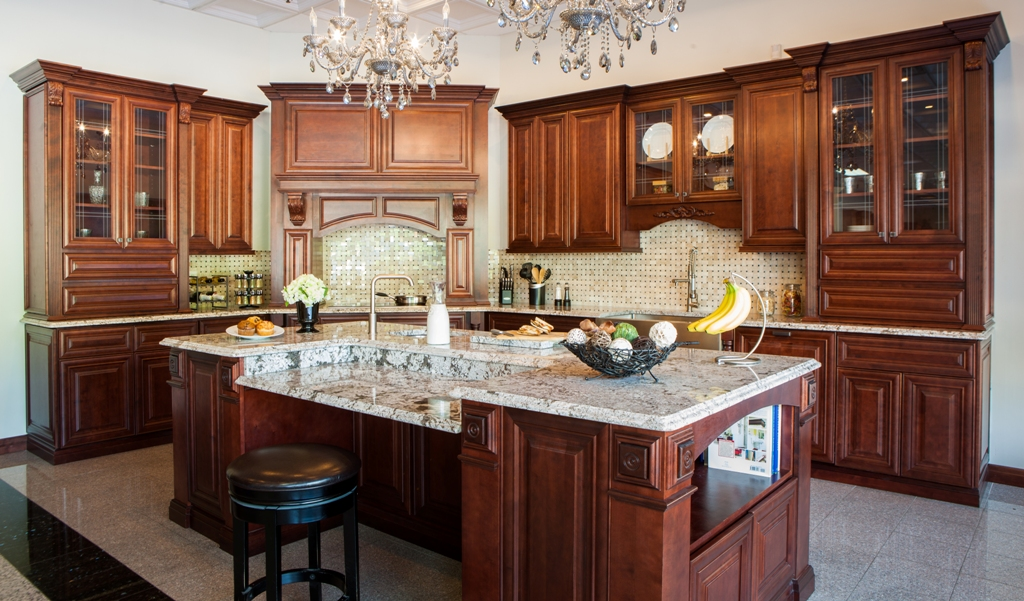 Scottsdale Kitchen Remodeling Mahogany Cabinets Granite Countertops Islands